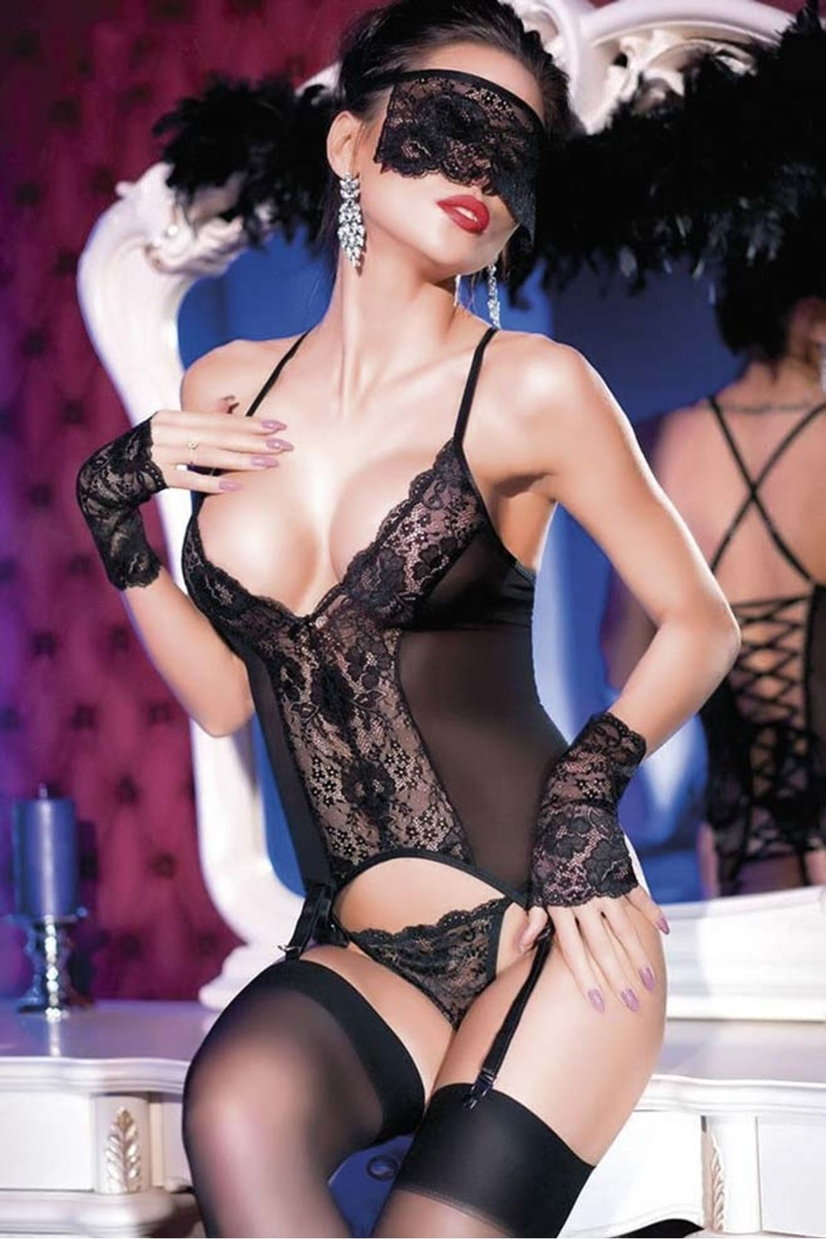 For Dreams 8229 Jartiyerli Fantazi Body