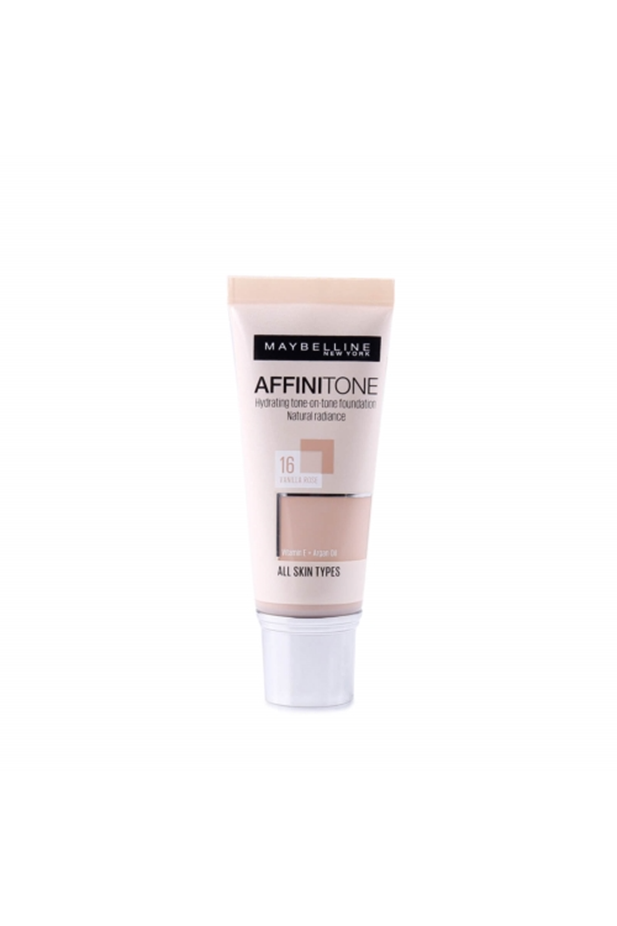 Maybelline New York Affinitone Kapatıcı ve Nemlendirici Fondöten Vanilla Rose 30 ml No: 16